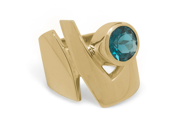 Signature Cocktail Ring, Yellow Gold
