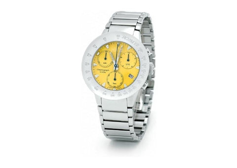 Jens Design Atlantis Chronograph Yellow   - Jens Hansen