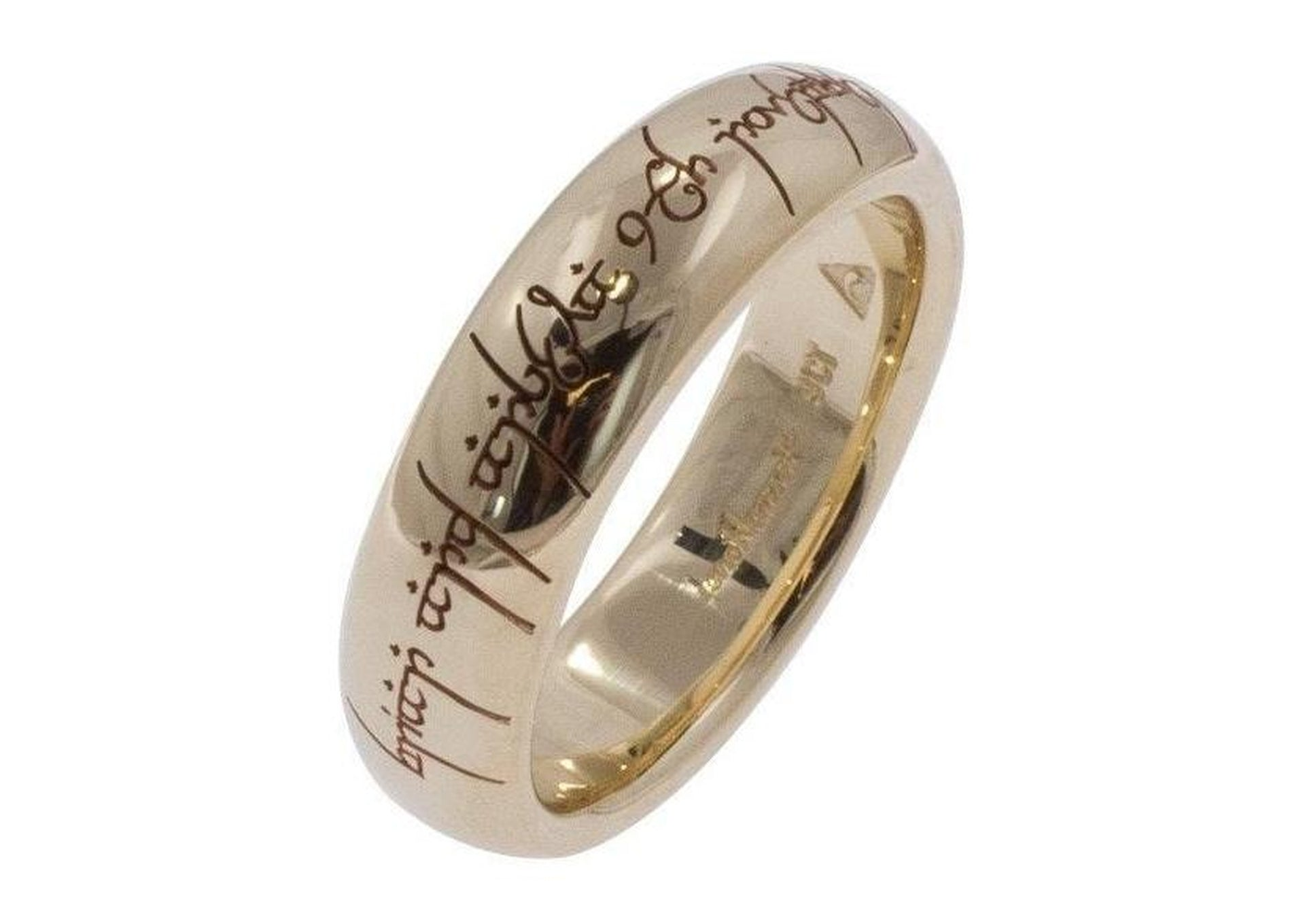 Single Sided Custom Laser Ring Engraving   - Jens Hansen - 1
