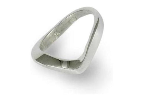 Silver Free form Ring   - Jens Hansen