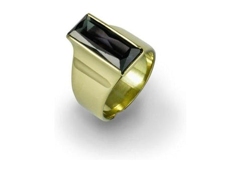 18ct Gold Rectangular Design   - Jens Hansen