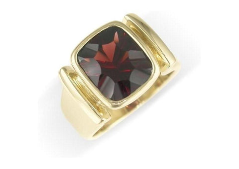 18ct Yellow Gold & Garnet Ring   - Jens Hansen