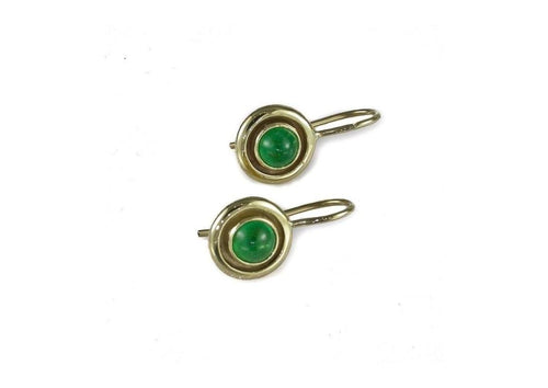 9ct Emerald Earrings   - Jens Hansen