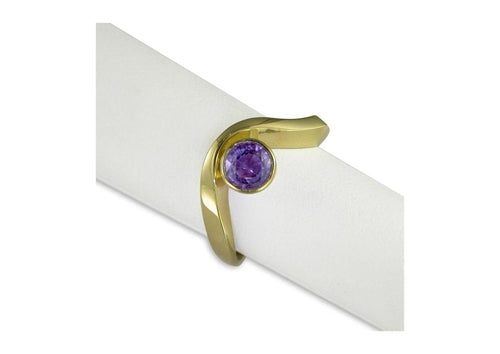 9ct Gold & Purple Amethyst Ring   - Jens Hansen