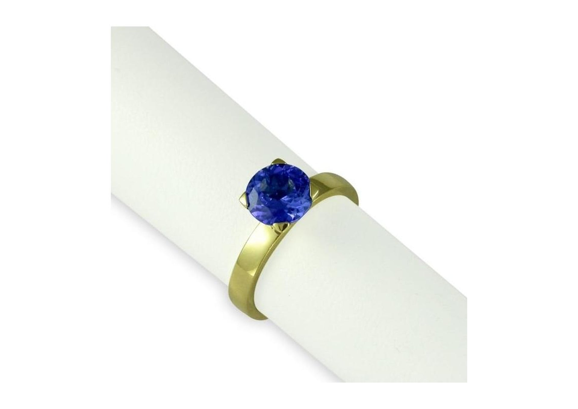 18ct Gold & Tanzanite Ring   - Jens Hansen