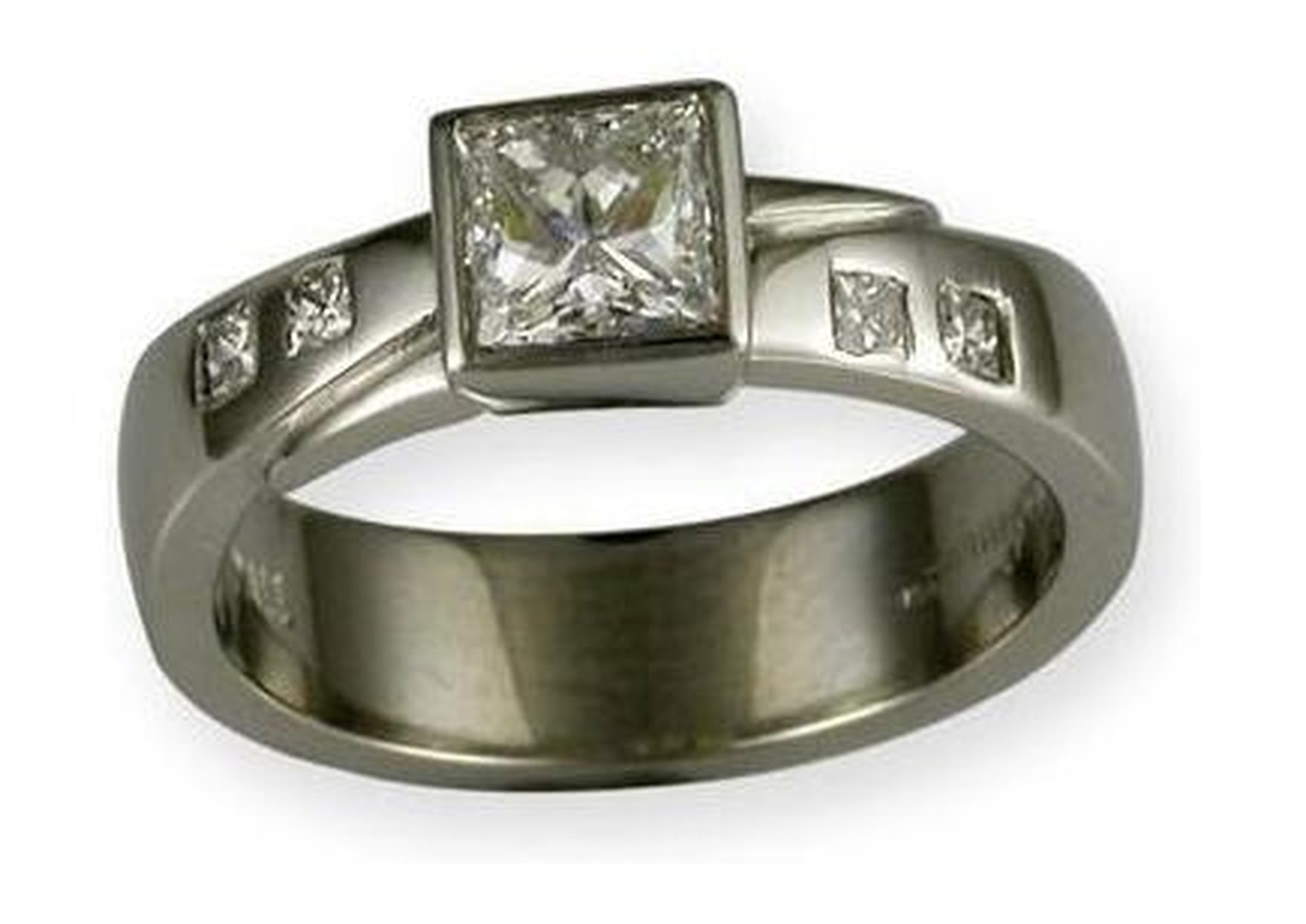 Palladium & Diamond Ring   - Jens Hansen