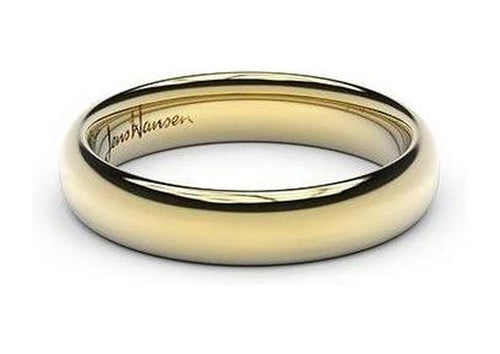 Petite Replica Ring - 4mm wide, 22ct Yellow Gold
