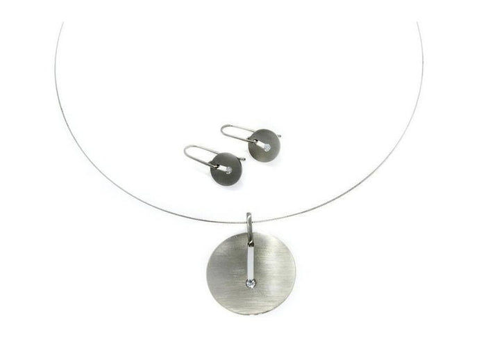 Diamond Pendant & Earring Set   - Jens Hansen
