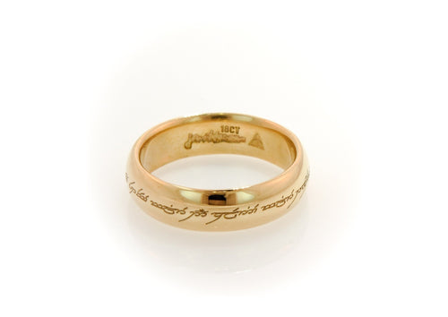 Single Sided Custom Laser Ring Engraving   - Jens Hansen - 2