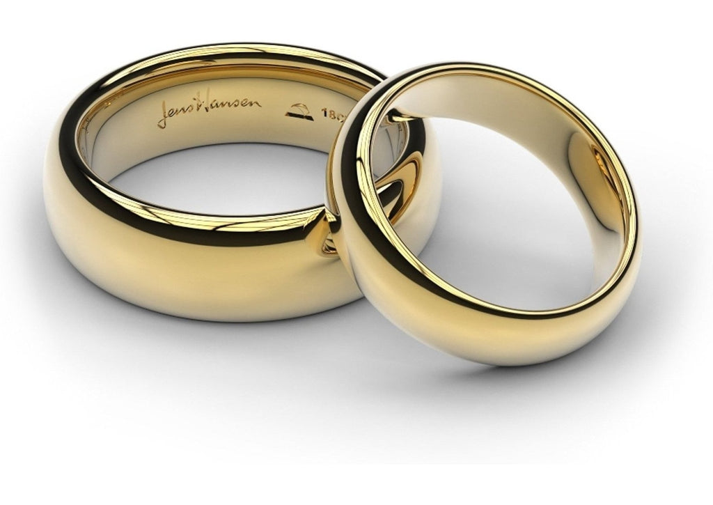 yellow gold replica rings set - Lord Of The Rings Wedding Ring