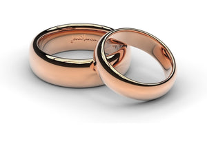 Red Gold Replica Rings Set   - Jens Hansen