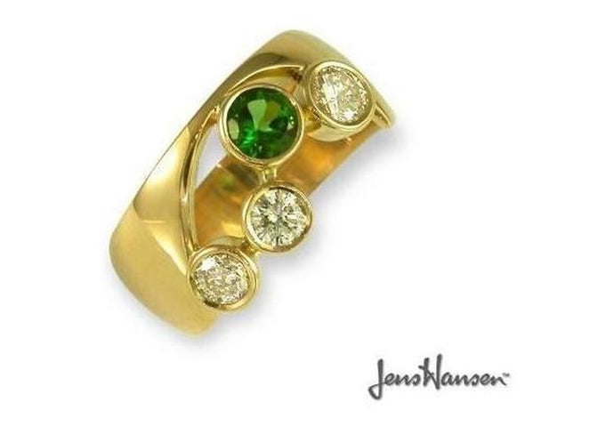 Bespoke Engagement Ring   - Jens Hansen