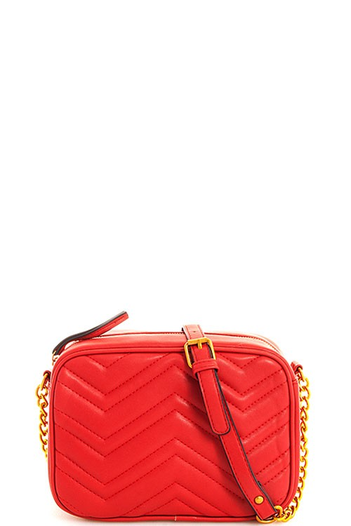Red Cleo Purse
