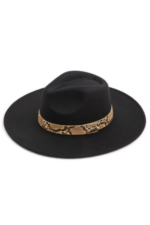 Snake Band Hat (Black)