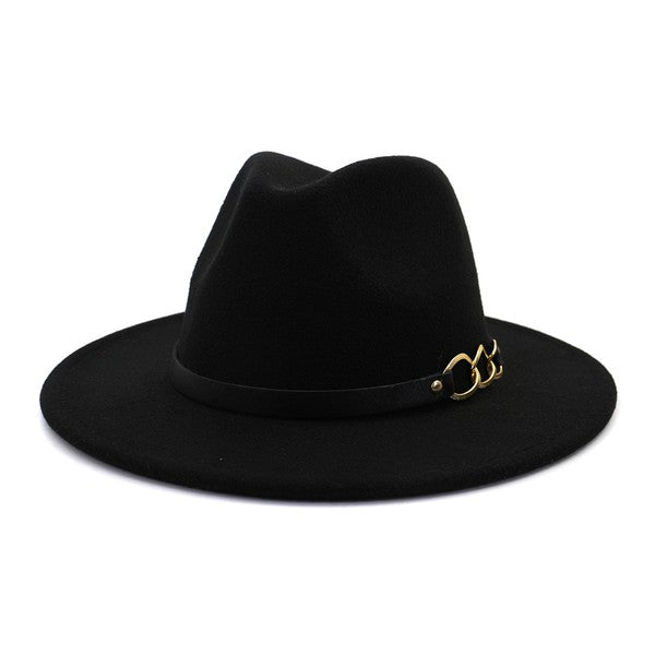 Chelsea Chain Hat (Black)