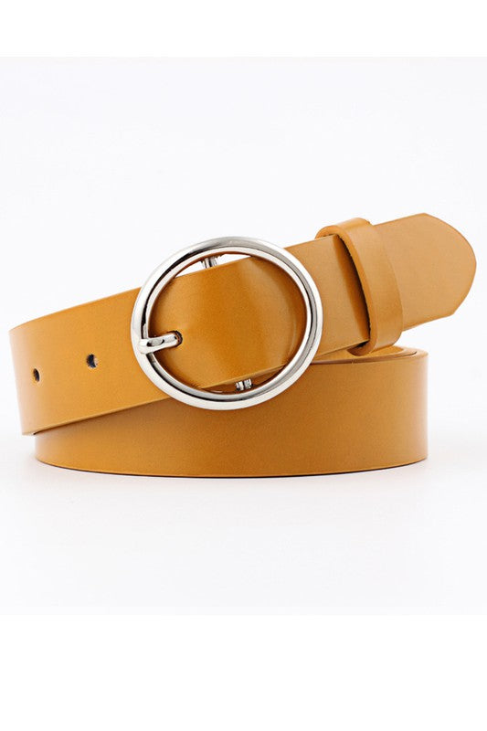 Single Ring Belt (Camel)