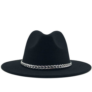 Lexi Chain Hat (Black)