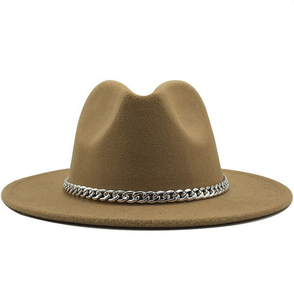 Lexi Chain Hat (Tan)