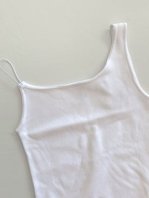 City Bodysuit (White)
