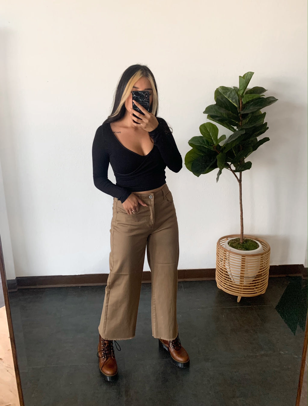 90s Baby Wide Leg Pant