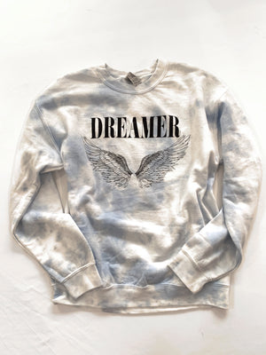 Dream Sweatshirt (Cloud Tie Dye)