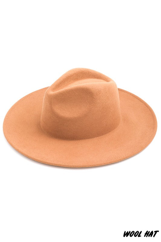 Camp Wool Hat (Tan)