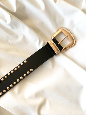 Studded Belt (Black)