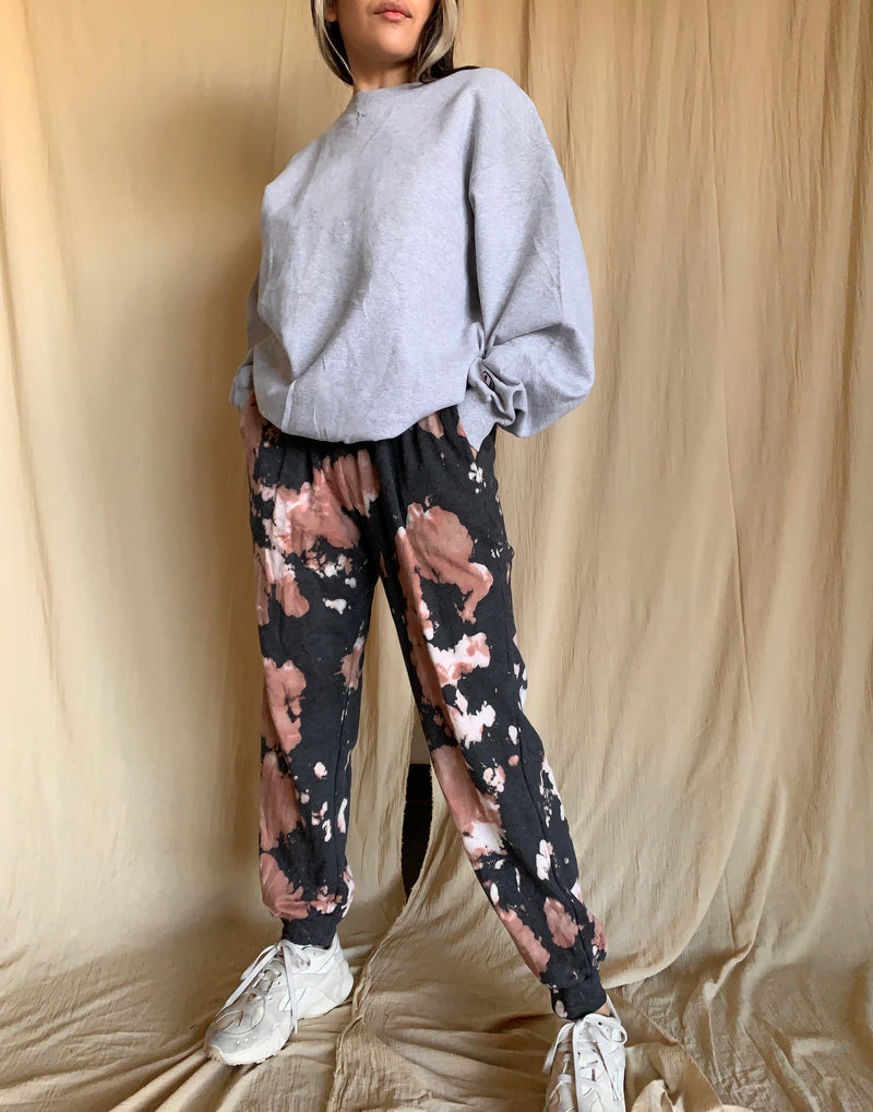 Urban Acid Wash Sweats (Mocha)