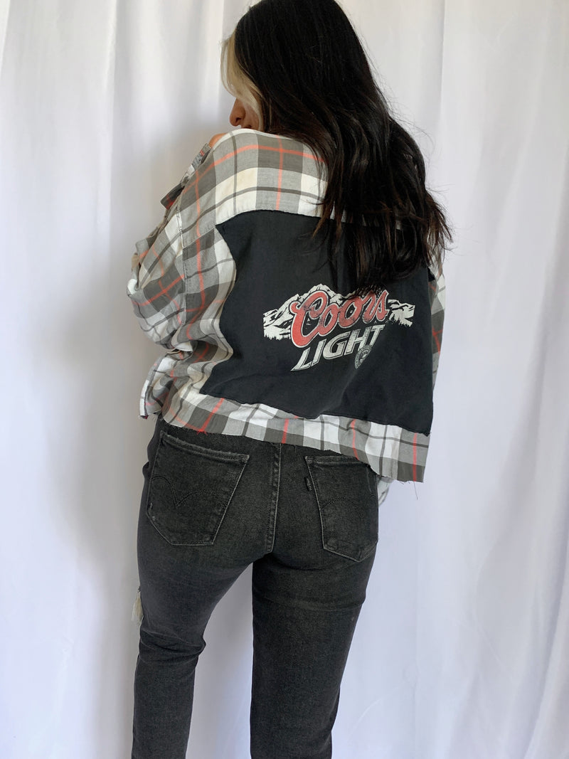 Coors Light Flannel