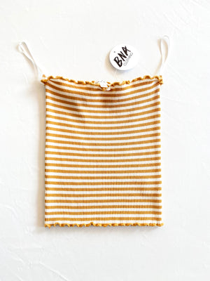 Stripe Tube Top