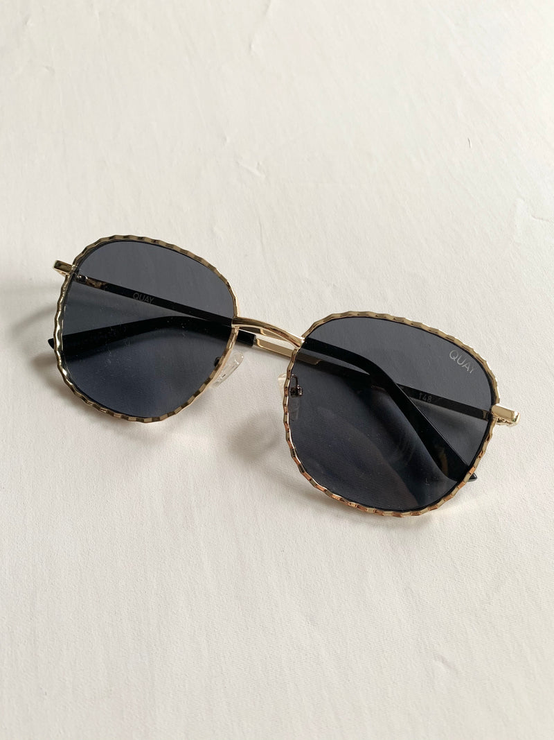Jezabell Gold Twist Glasses