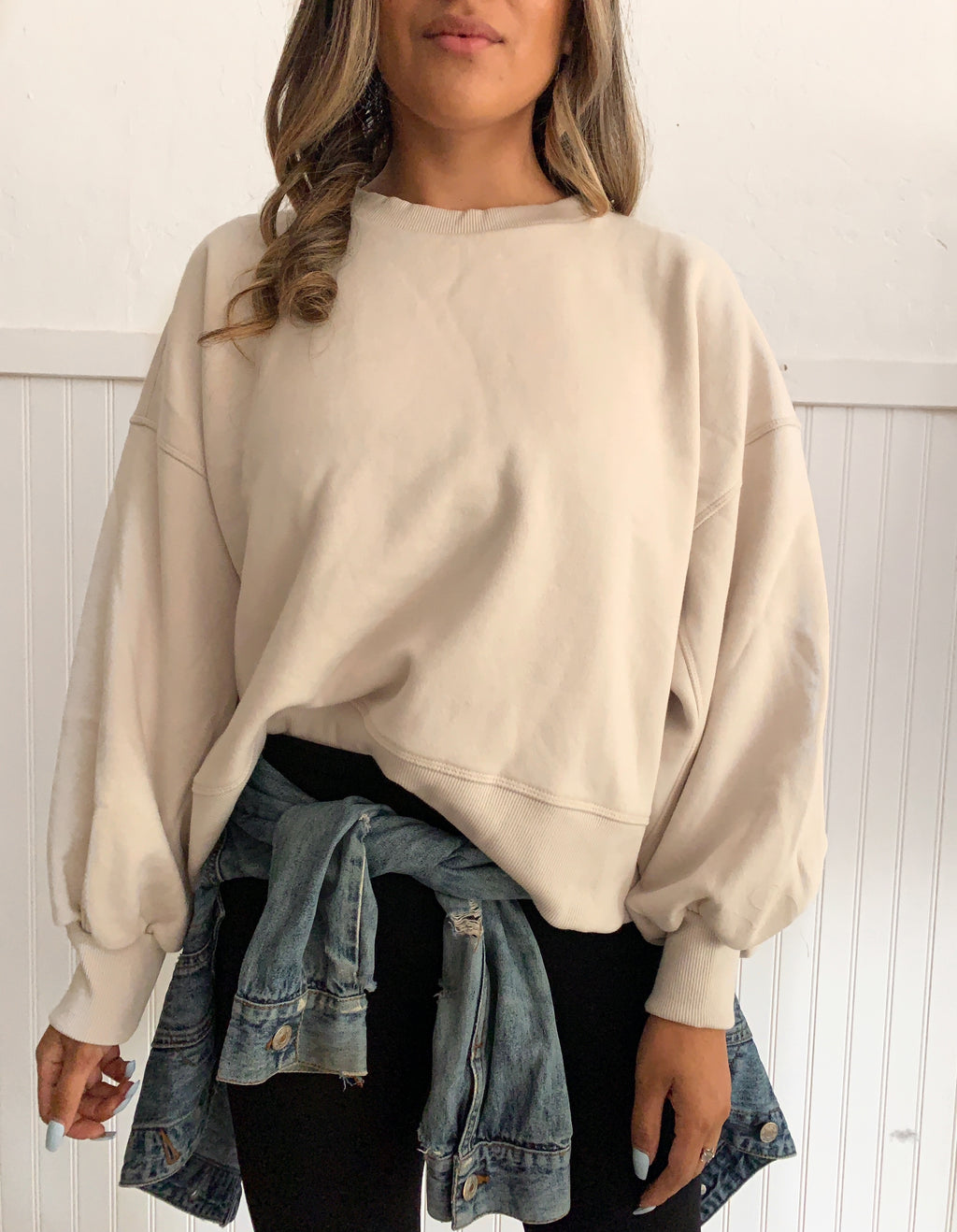 Layla Sweatshirt (Bone)