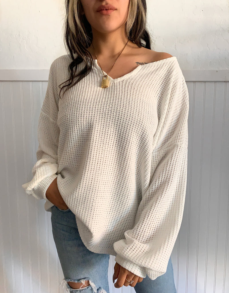 Chenae Soft Sweater (Ivory)