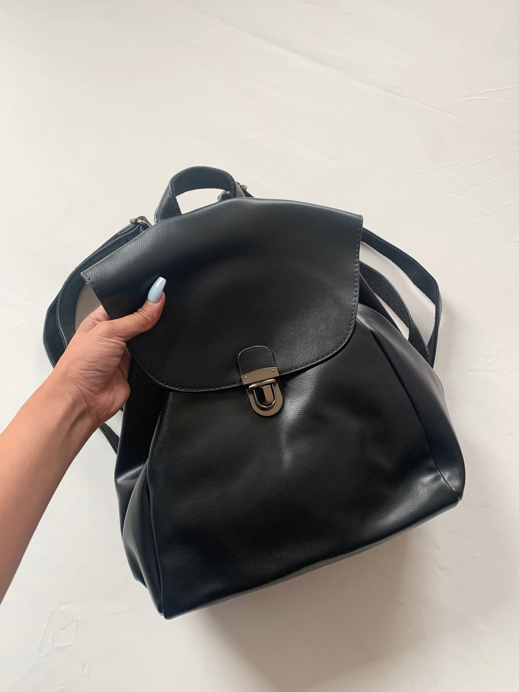 Thrifty Backpack (Black)