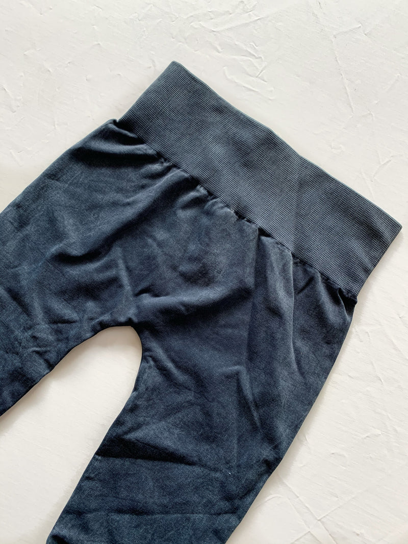 Vintage High Rise Legging (Denim Blue)