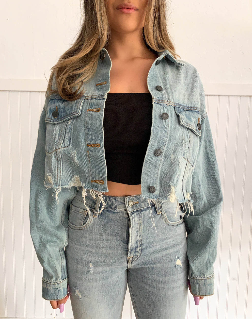 Ride Along Denim Jacket