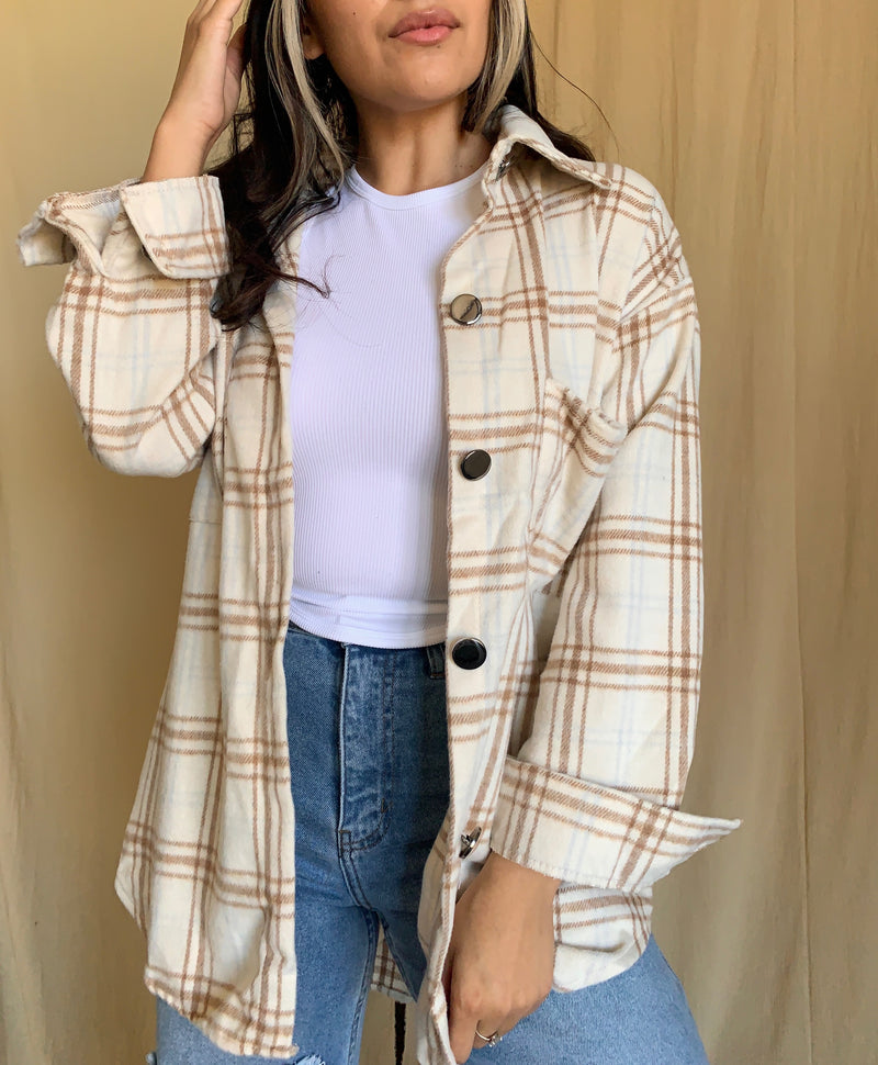 Riley Flannel (Tan)
