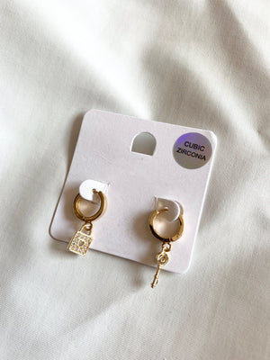 Lock and Key Earing
