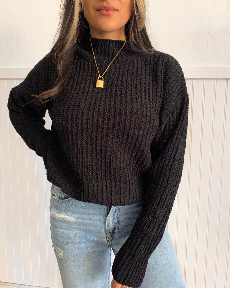 Simple Turtleneck Sweater