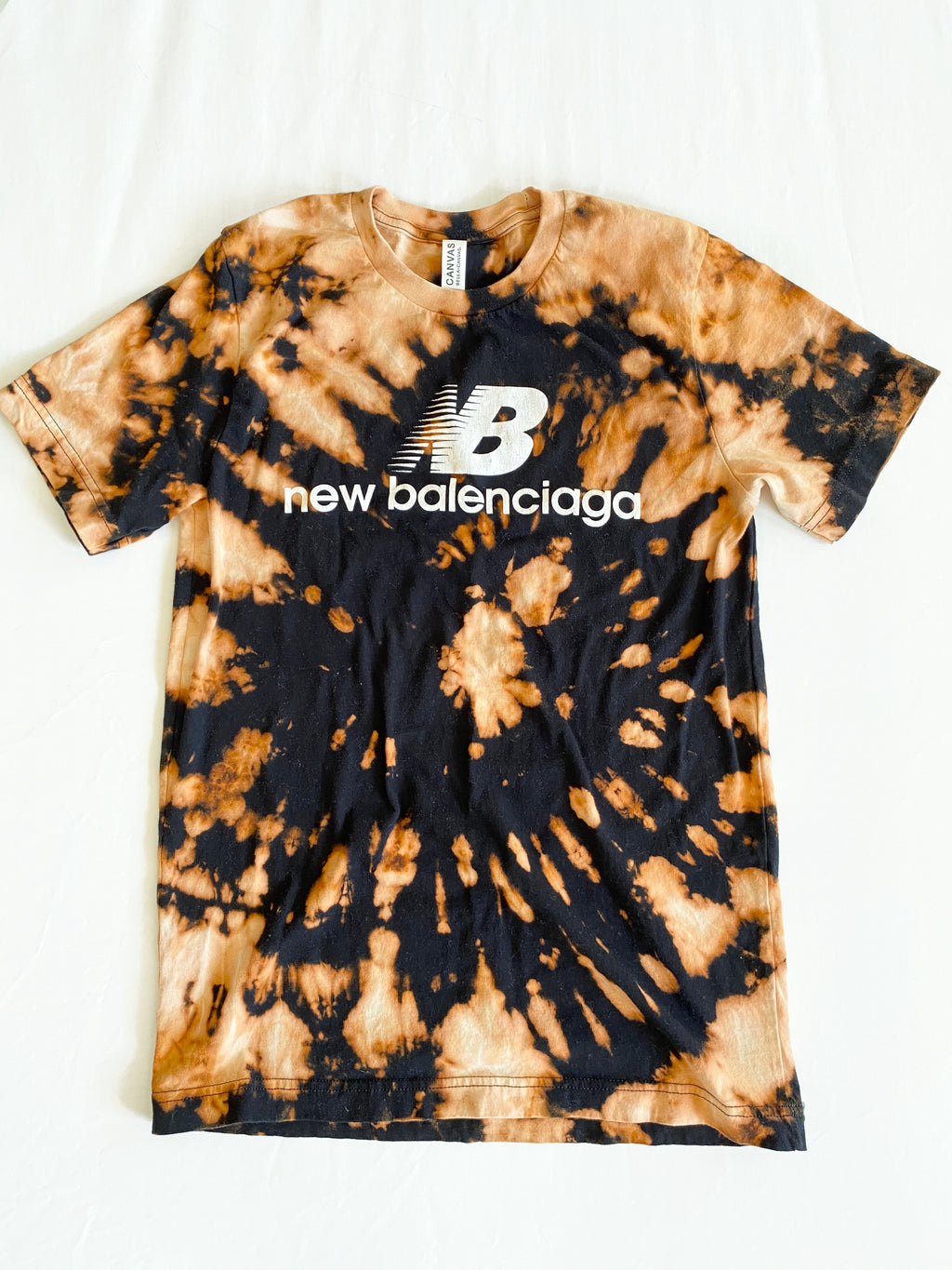 Balenciaga Graphic Tee (Acid Wash)