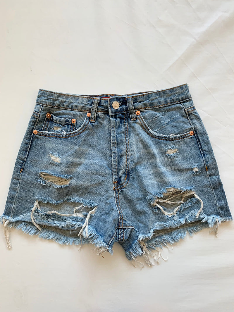 Hayley Denim Shorts