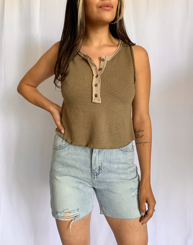 Tilly Tank (Brown)