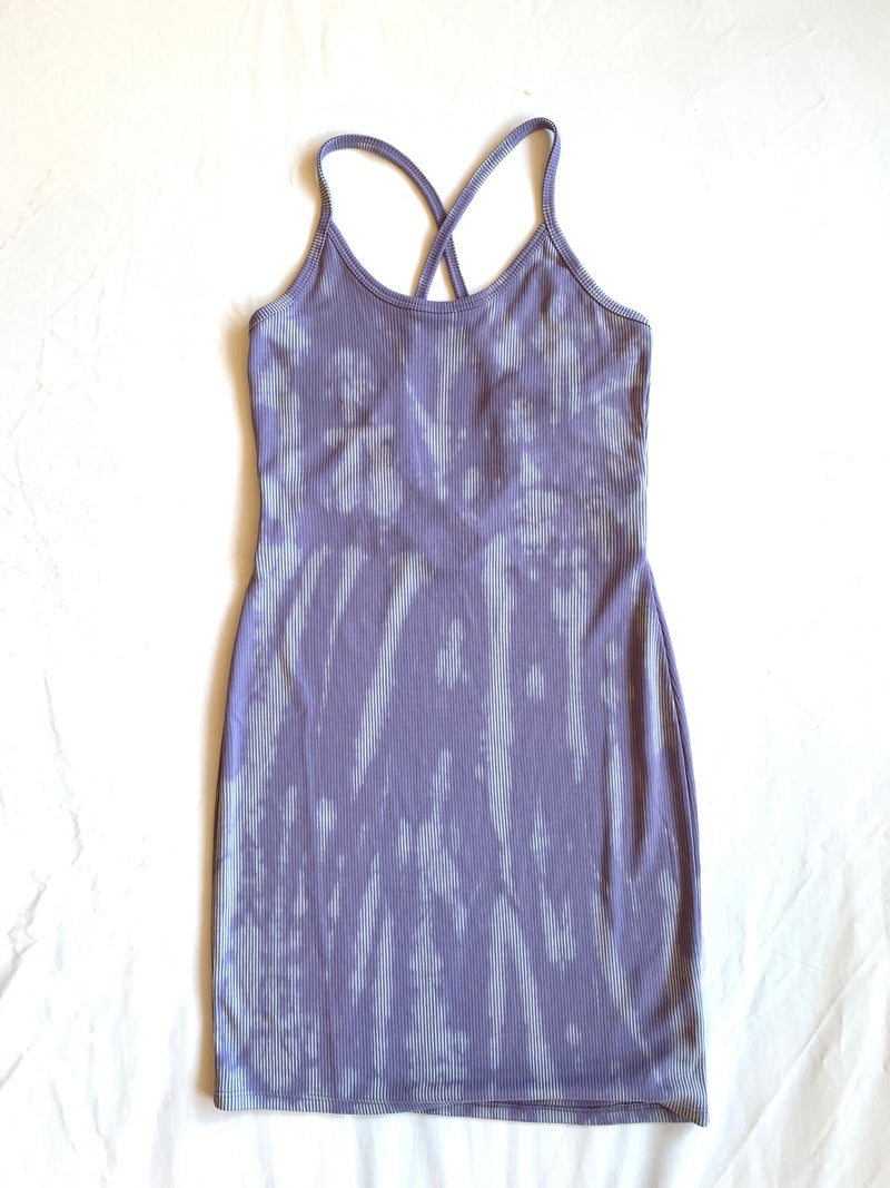 Tara Tie Dye Dress (Purple)