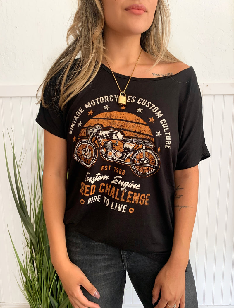 Motorcycle Graphic tee