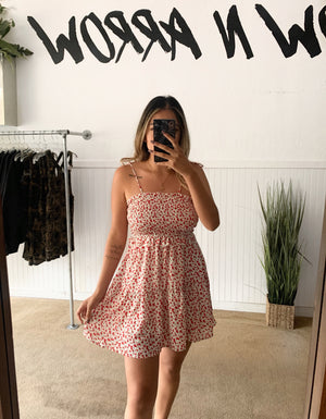 Mini Rose Dress