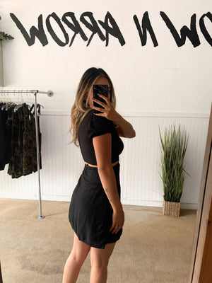 Black Ring Dress