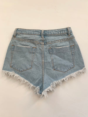 Emma Shorts (Light Wash)