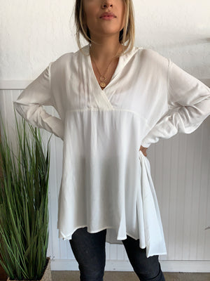 Woven Tunic Top