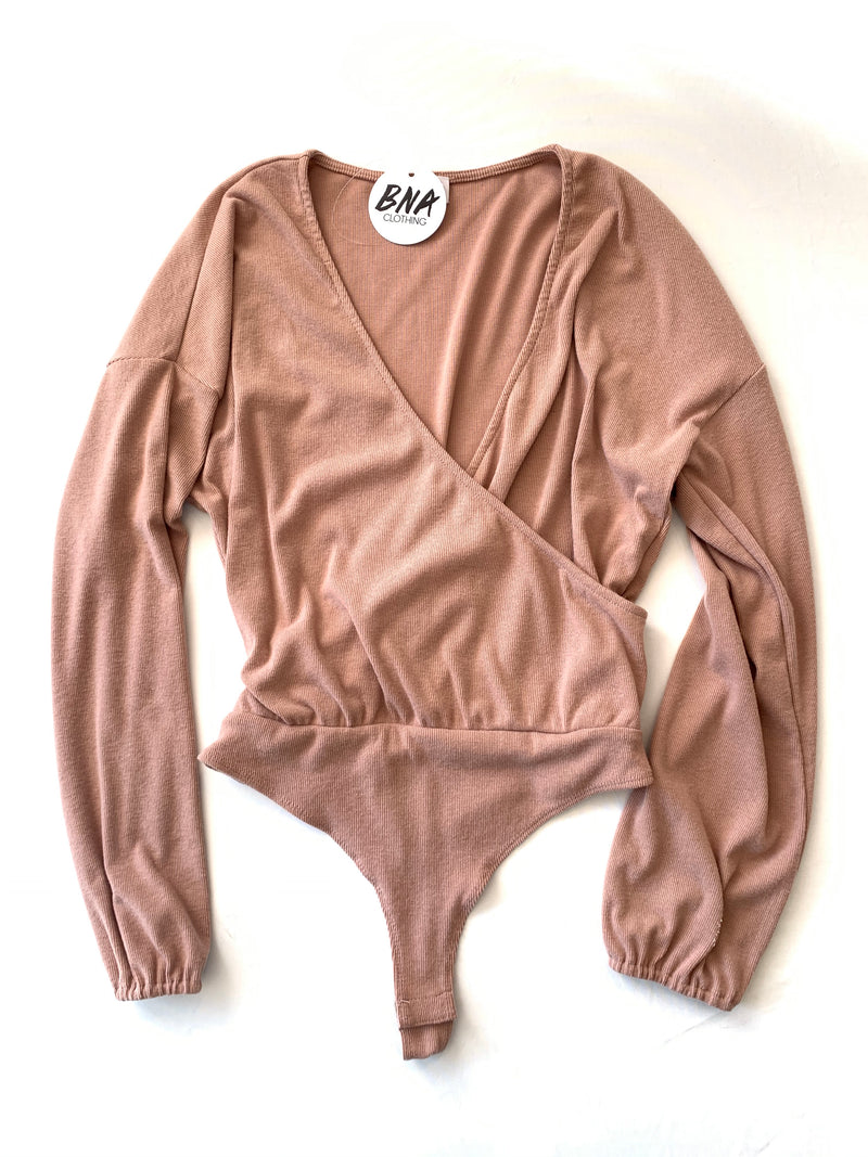 Blush Long Sleeve Bodysuit