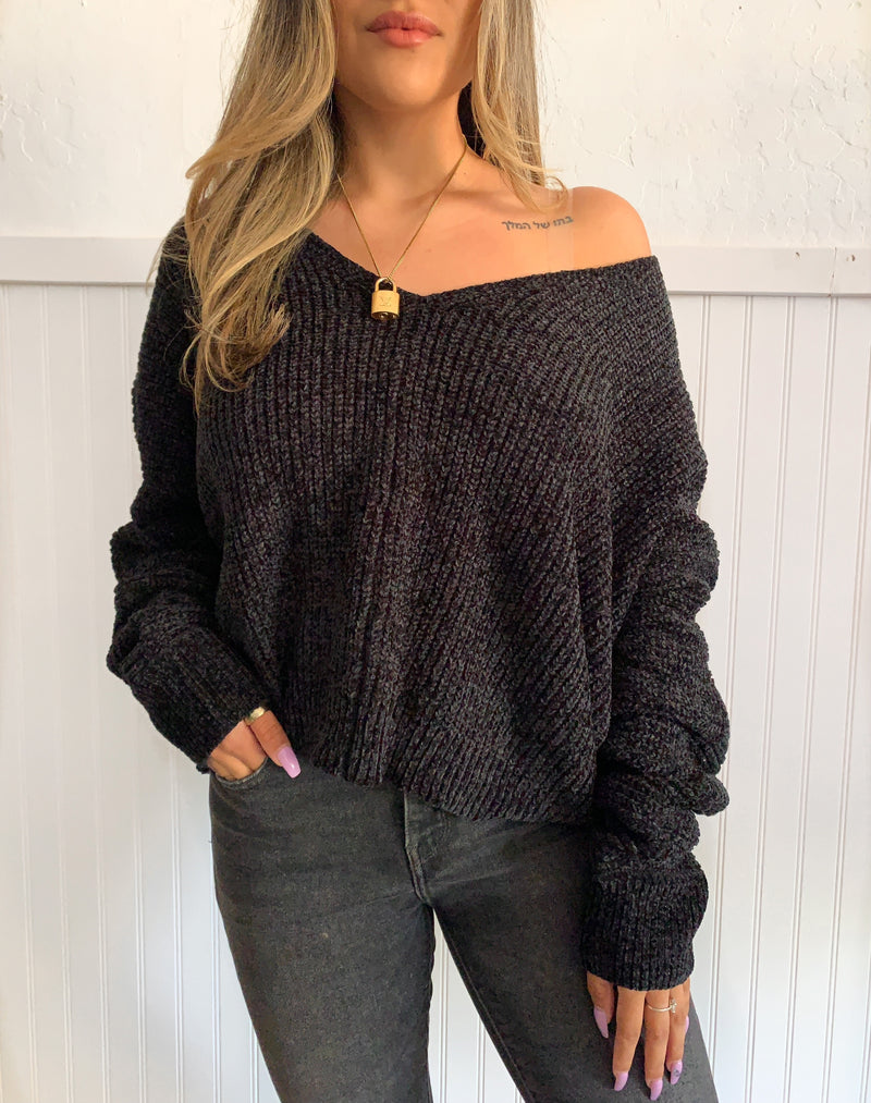 Soft Sweater (Black)